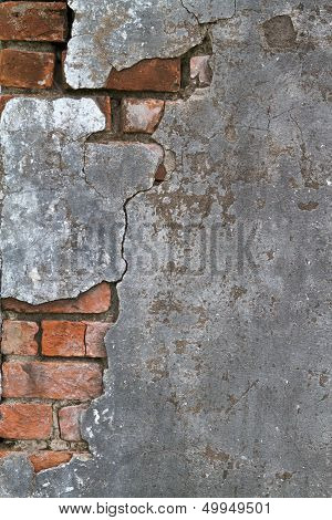 Concrete And Brick Texture