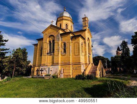 Church Of St. Dimitrije In Belgrade