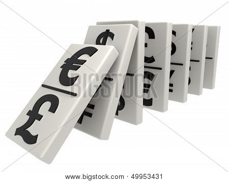 World Crisis Domino Effect, Euro
