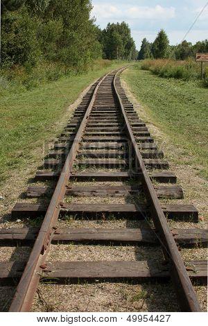 Narrow Gauge Railroad.