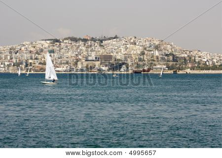 Piraeus City, Greece