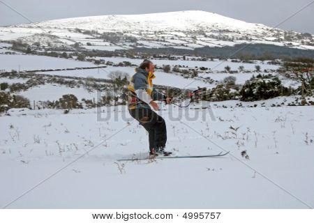 Kite Skiing
