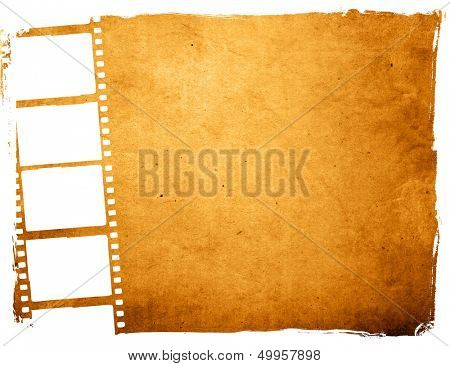 Great film strip for textures and backgrounds frame