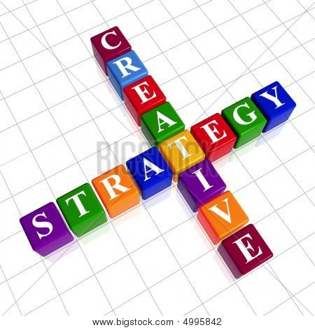 Color Creative Strategy Like Crossword