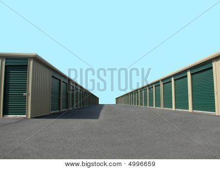 Unidades de almacén de Self-Storage