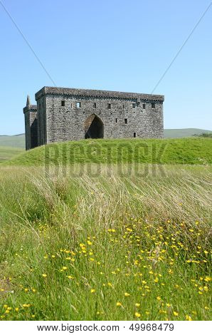 View of Hermitage Castle