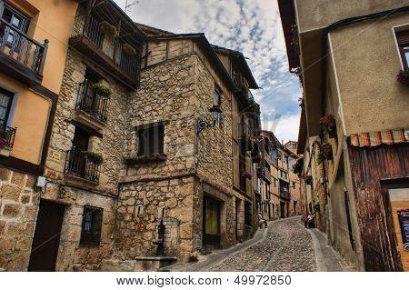Houses in Frias Castilla y Leon