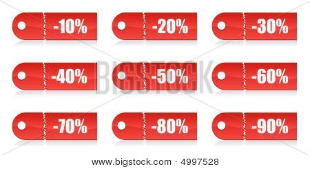 Shopping Vector Tags