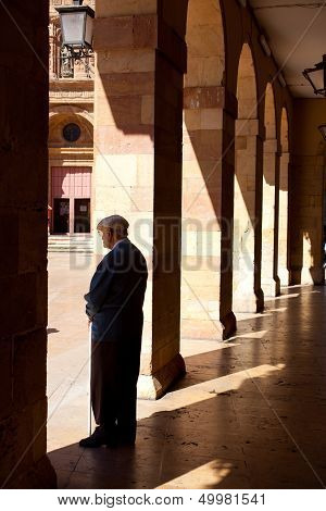 Old Man Under The Porch
