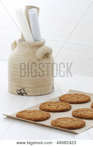 Fresh Baked Oatmeal Cookies