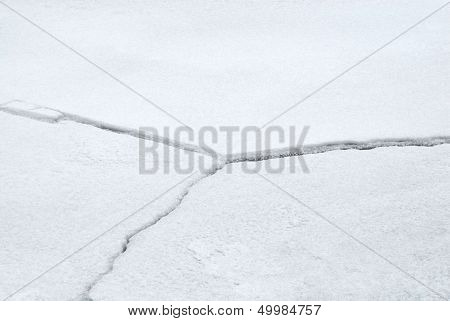 Cracked Ice Fissures