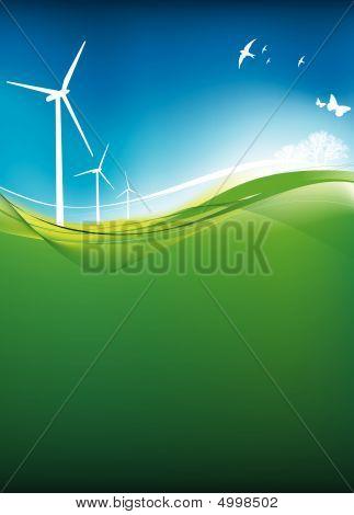 Eco Turbine Background
