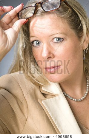 Cute Forty Year Old Woman Senior Business Executive