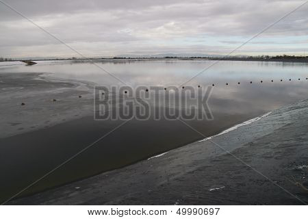 Balsa buoys. Santa Cristina del Paramo, Leon