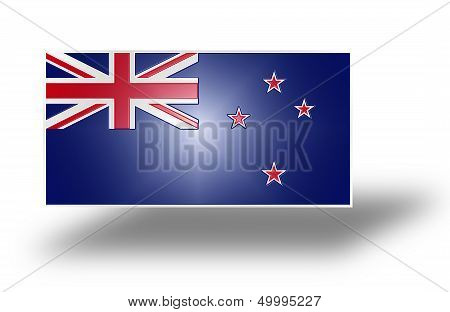Flag Of New Zealand - Blue Ensign (stylized I).