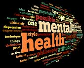 foto of antidepressant  - Mental health concept in word tag cloud on black - JPG