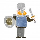 picture of viking  - retro cartoon viking - JPG