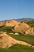 picture of mesquite  - A desert golf course in Mesquite Nevada - JPG