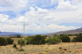 stock photo of leopold  - A Scenic View from the Aldo Leopold Vista Picnic Area New Mexico - JPG