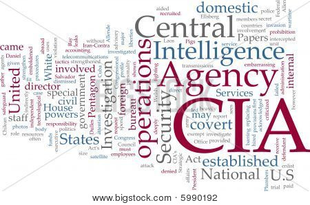 Agencia Central de inteligencia CIA.