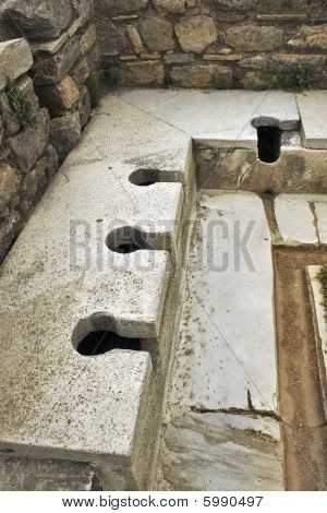 Roman Public Toilet