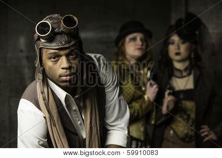 Steampunk Trio
