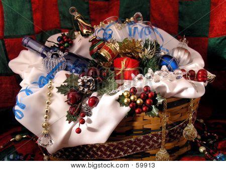 Weihnachts-Geschenk-Korb