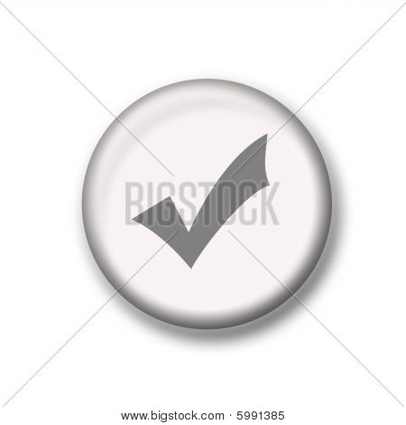 Illustration Of Check Mark Icon