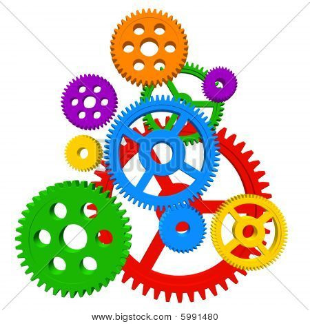 Color gears