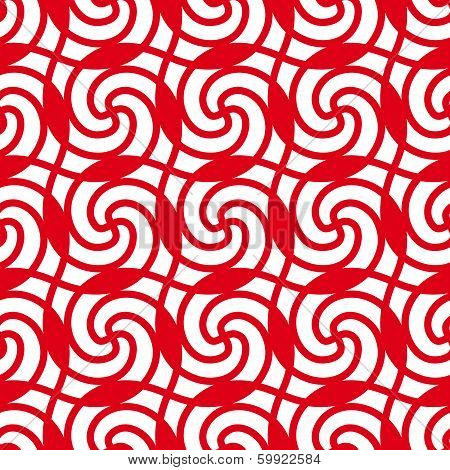 Red seamless pattern.