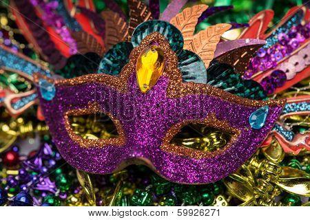 Mardi Gras Mask