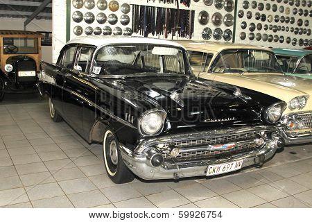 Vintage Car 1957 Chevrolet Biscayne 4 Door Sedan