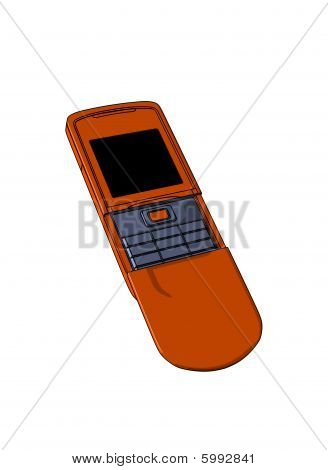 Terracot mobile phone