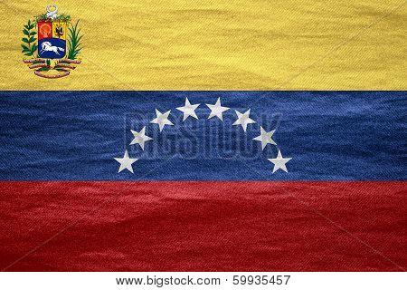 Flag Of Venezuela
