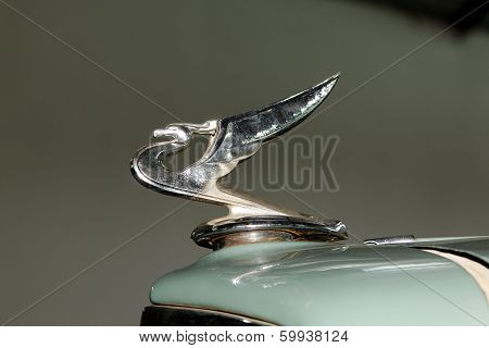 Vintage Car Chevrolet 1935 Hood Ornament