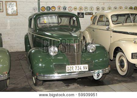 Vintage Car 1939 Chevrolet Coupe