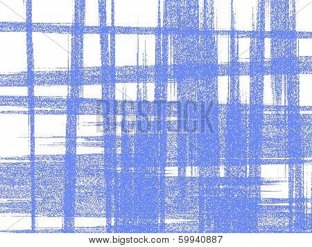 Light-blue Roughly Woven Pattern On White Background