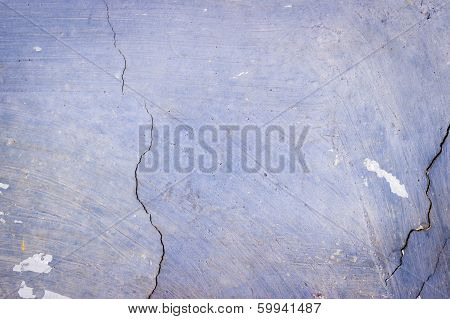 Blue Exposed Concrete Wall Texture