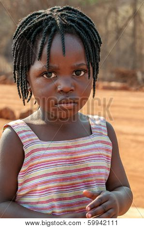 Little Girl From Victoria Falls