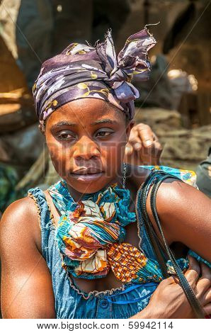 Woman From Zambia