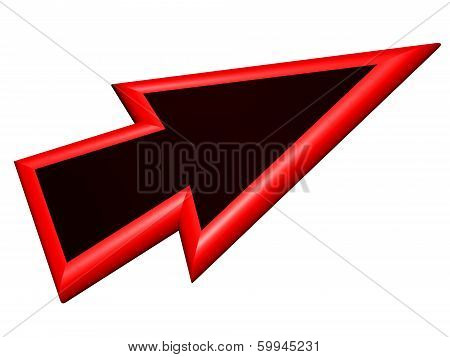 Red And Black Arrowhead