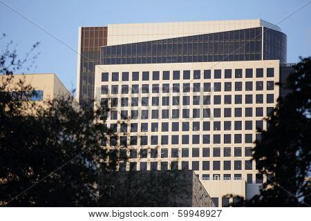 Stock image of an office building