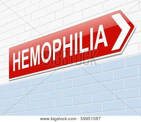 Hemophilia Concept.