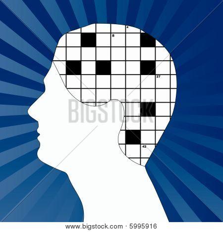 Profile With Crossword