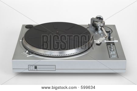 Stylish Vinyl Record Player - Turntable (with Clipping Path)
