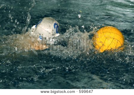 Yellow Water Polo Ball