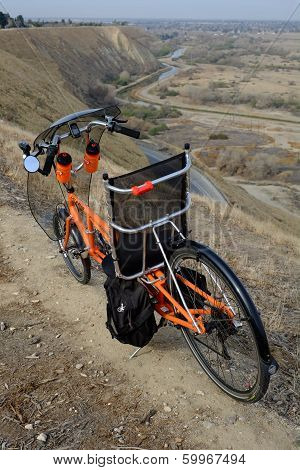 Long Wheelbase Recumbent Bicycle