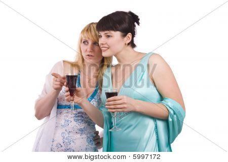 Two Talking Girls