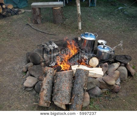 Campfire Supper