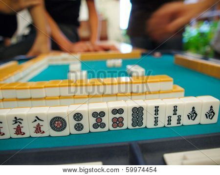 An ancient Chinese game called Mahjong as a way to spend your free time with joy and get some fun
